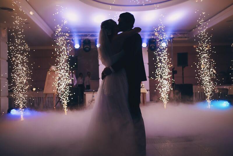 תמונ ריקוד ראשון באולם חתונות